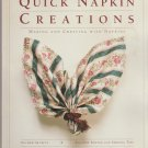 Quick Napkin Creations by Gail Brown (1991, Paperback) sewing and more