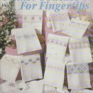 tender touches for fingertips ( towel) ** cross stitch