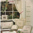 ROSEBUDS (flowers & alphabet) ** cross stitch
