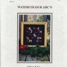 WATERCOLOUR ABC'S ** cross stitch