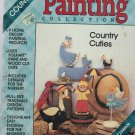 country cuties  ** folk art painting booklet
