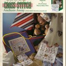 ANCHORS AWAY (TEDDY BEARS AND SAILBOATS) ** to cross stitch