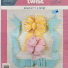BOWS WITH A TWIST ^ creative twist ^^ craft leaflet