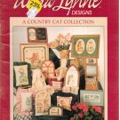 A COUNTRY CAT COLLECTION ** cross stitch booklet