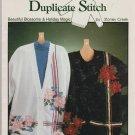 BEAUTIFUL BLOSSOMS & HOLIDAY MAGIC * duplicate stitch * to cross stitch