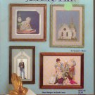 portrait of a minister ** cross stitch booklet (religious, priest, church)