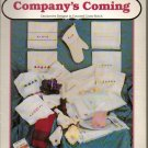 COMPANY'S COMING (TOWELS ETC) ** to cross stitch