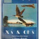 landing flight (mallard ducks)  ** cross stitch leaflet