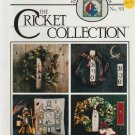 TRIMMINGS TWO ** cricket collection ** cross stitch