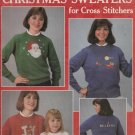 CHRISTMAS SWEATERS ** cross stitch booklet