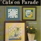 cats on parade to cross stitch