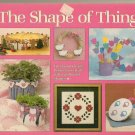 THE SHAPE OF THINGS ** fun fast & easy projects made frim cardboard shapes