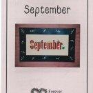 September ** cross stitch
