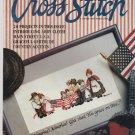 VINTAGE FOR THE LOVE OF CROSS STITCH MAGAZINE vol 3 # 2 ** cross stitch
