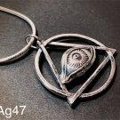The eye of providence - Mason - All-seeing eye/ third Eye / the eye of God silver 925 pendant