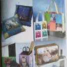 Vogue 8106 UNCUT Craft Computer Printed Fabric Accessories Sewing Pattern