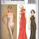 Butterick 5182 Halter Evening Dress UNCUT Sewing Pattern Size 14 16 18 20 B5182