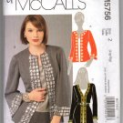 McCall's 5765 Misses' Cardigan Tops UNCUT Sewing Pattern Size Large XLg
