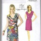 Butterick 5749 Draped Summer Dress UNCUT Sewing Pattern Size 16 - 24 B5749 Suzi Chin