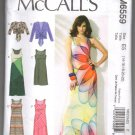 McCall's 6559 Misses Sleeveless Dresses and Jacket Shrug UNCUT Sewing Pattern Size 14-22