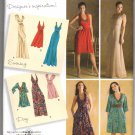 Simplicity 3503 Halter Dresses Day or Evening UNCUT Sewing Pattern Size 6-14