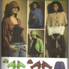 Simplicity 4428 Misses Jacket Cape Hat and Bag Sewing Pattern Size XS - XL