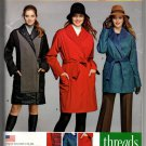 Simplicity 1015 S0291 Misses Lined Coat or Jacket Sewing Pattern Size 6-14