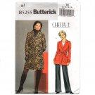 Butterick B5255 Belted Coat Chetta B Sewing Pattern Size 8-14 Uncut