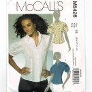 McCall's 5426 Misses' Shirts Tops UNCUT Sewing Pattern Size 6 - 14 M5426