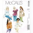 McCall's 5050 Misses' Peasant Blouse Tunic Tops UNCUT Sewing Pattern Size XS Sm Med M5050