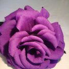 Giant Crepe Paper Purple Rose
