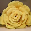 Giant Crepe Paper Yellow Rose