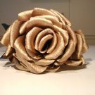 Giant Crepe Paper Gold Rose