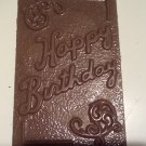 Chocolate Greeting Card - HAPPY BIRTHDAY - 4 ea