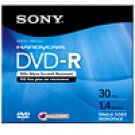 Sony 3DMR30 8CM DVD-R Discs for Video Cameras (30min 1.4GB)
