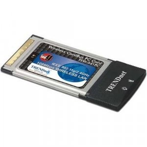 TRENDnet TEW441PC Wireless Super G PC Card