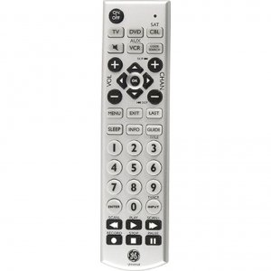 GE Universal Big Button Remote Control 24965 4-Device