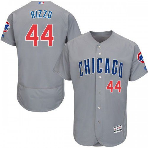 hot sale online b995d 3a119 MEN'S CHICAGO CUBS #44 ANTHONY RIZZO GRAY FLEXBASE JERSEY