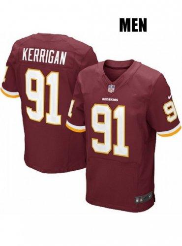 timeless design 5df1e bfcde Washington Redskins #91 Ryan Kerrigan Red Jersey