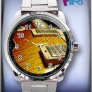 ELECTRIC GUITAR STAINLESS STEEL WATCH