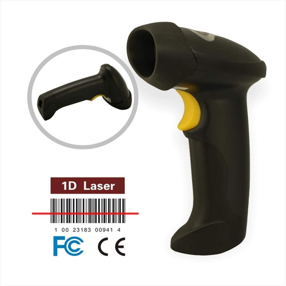Macroreer Automatic Barcode Scanner 2.4GHz Wireless USB and Wired Handheld Bar-code Reader