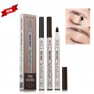 Hot Patented Microblading Eyebrow Tattoo Pen Waterproof Fork Tip Sketch Makeup