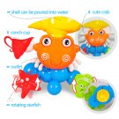 Bathing Toys Crab Rotating Starfish and Fish Summer Baby Kids Toddler Play Toy