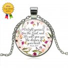 Christian Jewelry Necklace Psalm Charm Necklaces Gift Faith
