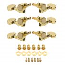 3R3L Semicircle Button Guitar Tuning Pegs Machine Heads Tuners Guitar Parts