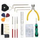 W003 Professional Guitar Repairing Tool Maintenance Cleaning Tool Kit for Guitar Ukulele