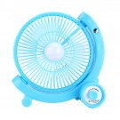 JY-5880 1W 6V Solar Panel & 9 inch Fan RV Touring Camping House Ventilator Air Cooling Fan