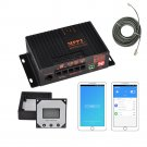 MPPT5012A-DUO-BT MPPT 12A 12V Solar Charge Controller APP Solar Regulator For Solar Panel Charger