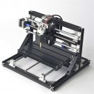 Black 2418 3 Axis CNC Router Spindle Motor Engraver DIY Wood Milling CNC Engraving Machine 240x180mm