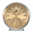 127mm Weather Station Barometer Thermometer Hygrometer Wall Hanging -30~60 0~100%Rh